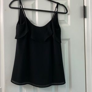 Black tank blouse